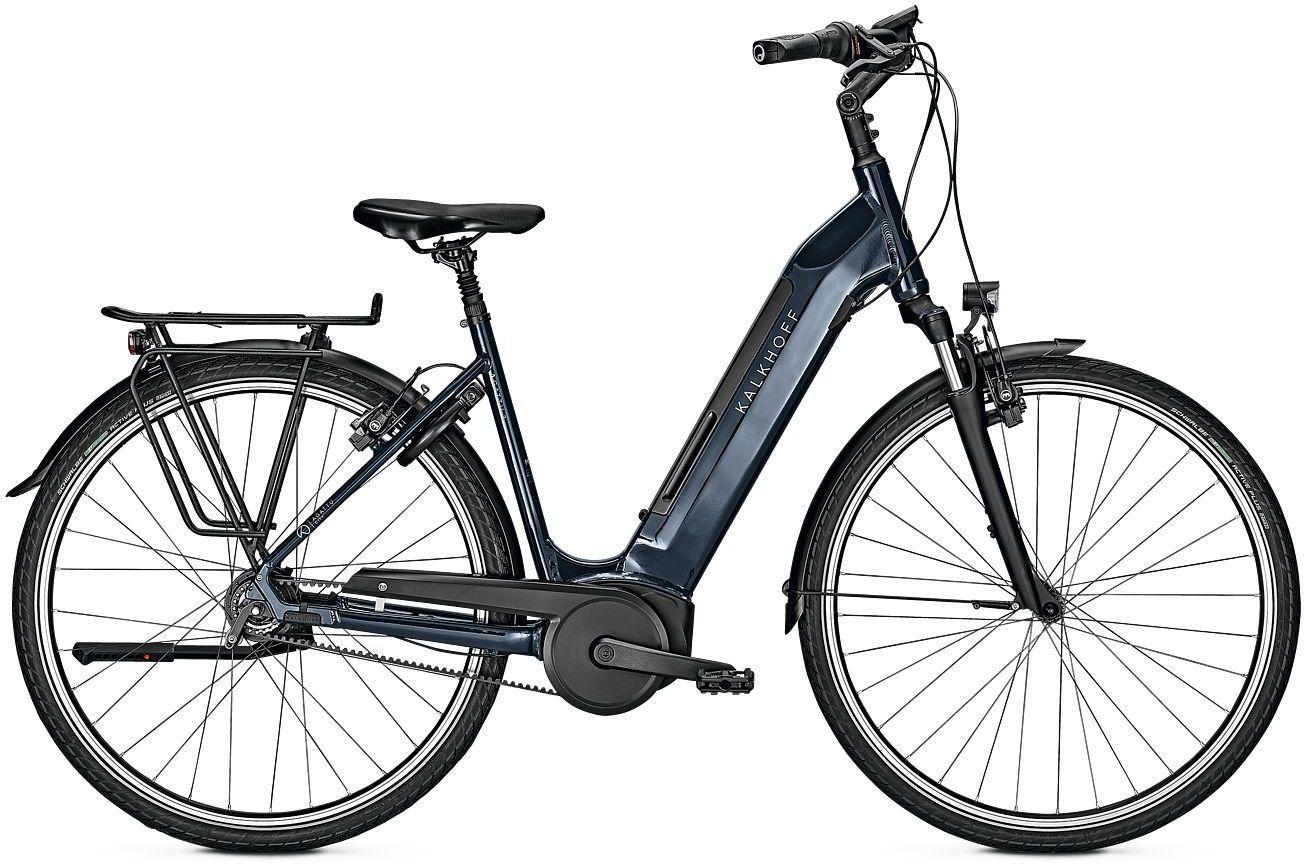 E-Bikes/Citybikes: Kalkhoff  AGATTU 3.B EXCITE R (500 Wh) 8 Gang Nabenschaltung Damenfahrrad Wave Modell 2021 28 Zoll 50 cm