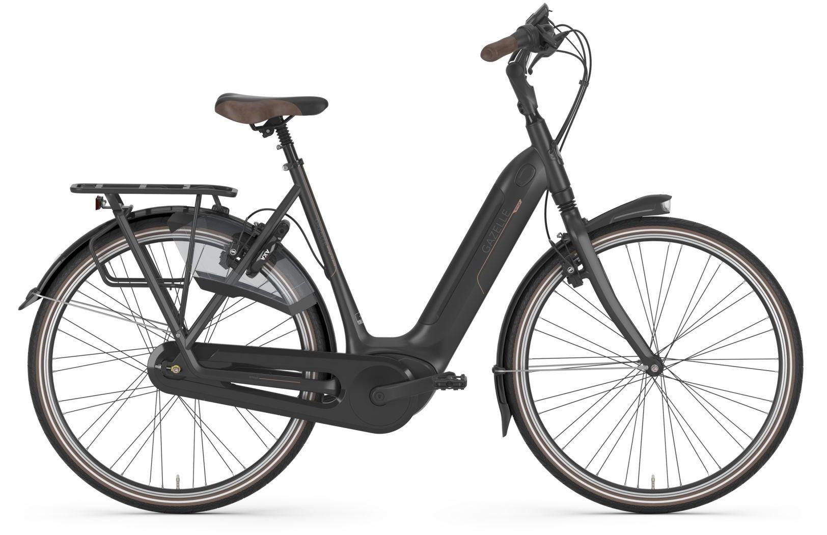 E-Bikes: Gazelle  ARROYO C8 HMB ELITE (500 Wh) 8 Gang Nabenschaltung Damenfahrrad Tiefeinsteiger Modell 2021 28 Zoll 53 cm