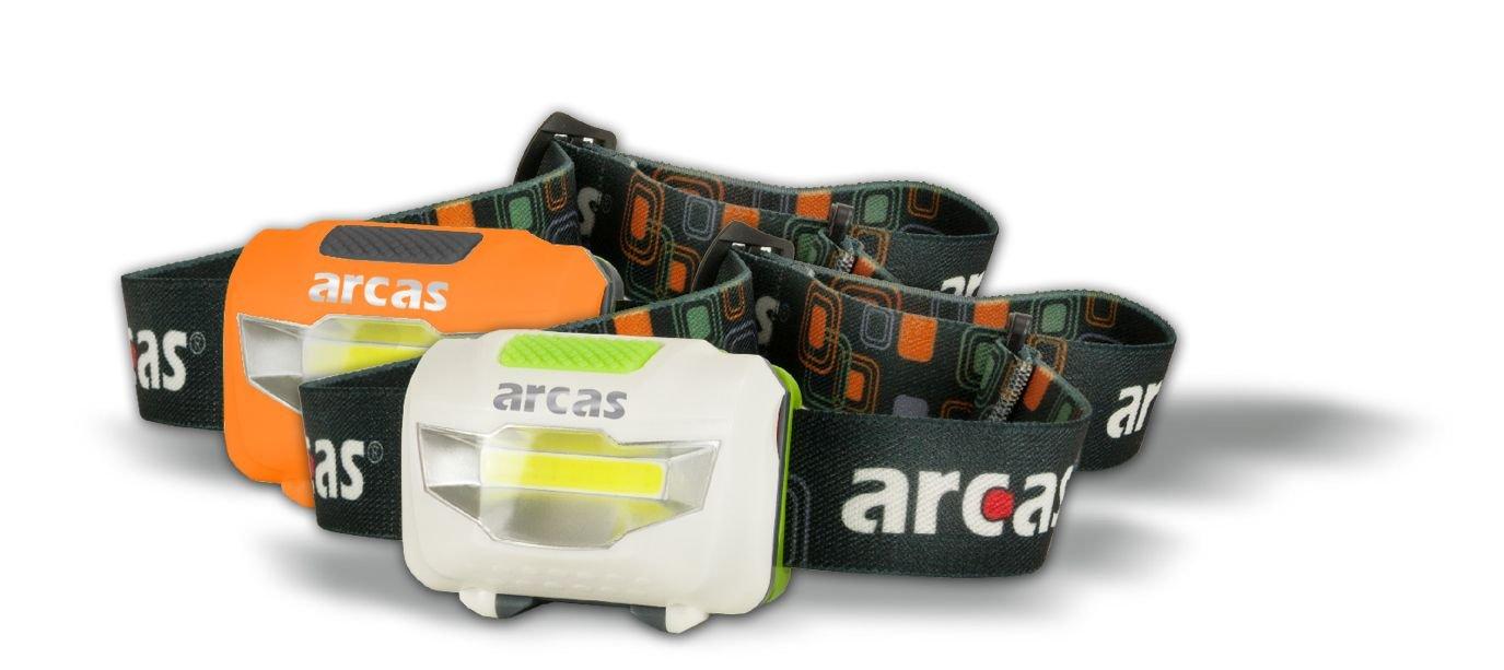 Arcas Stirnlampe 3W LED Orange