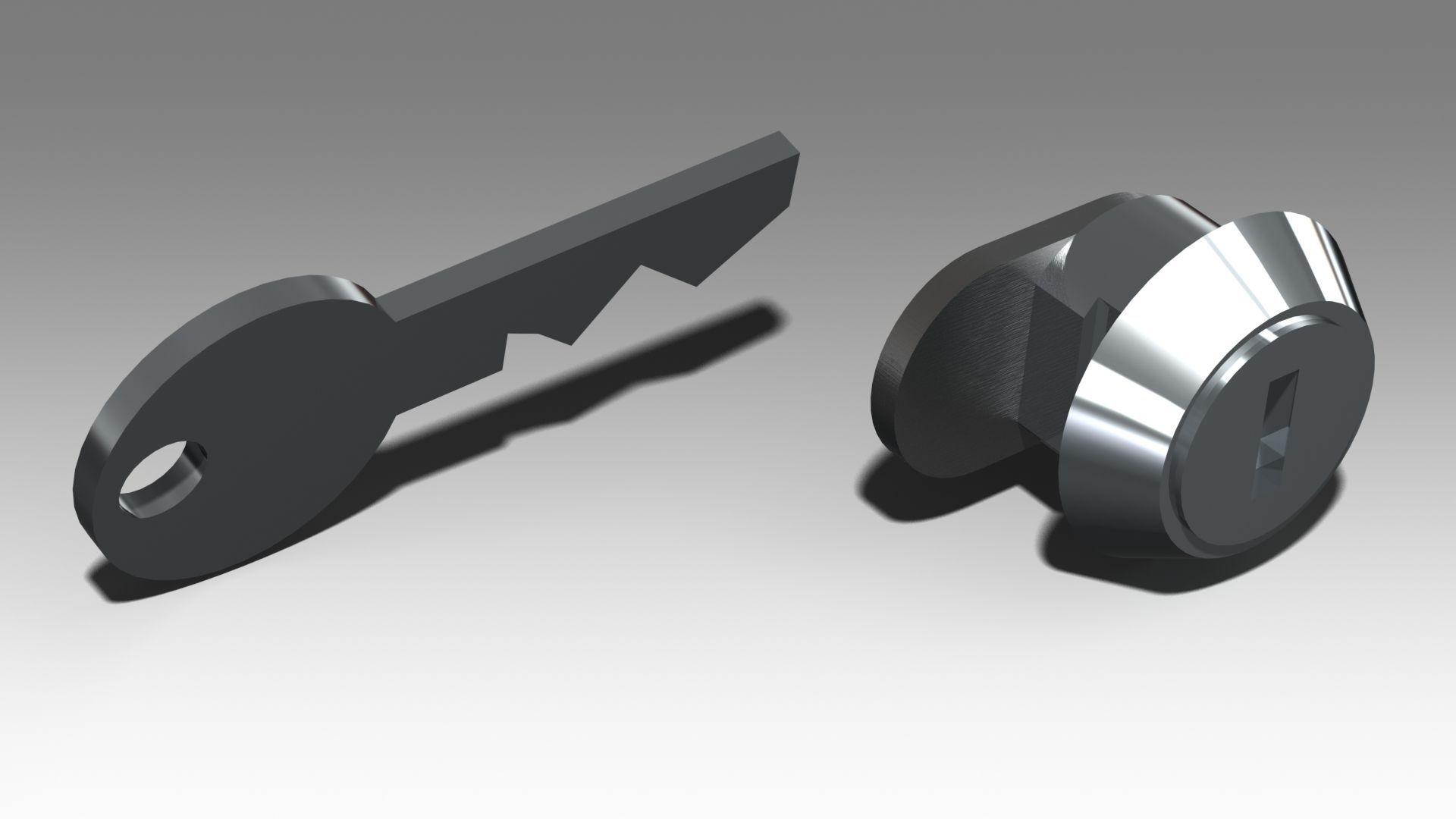 fahrradträgerzubehör: Uebler  Schließzylinder E1585
