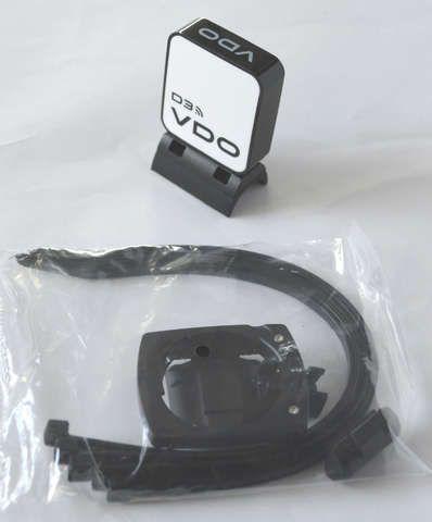 zubehör computer & pulsuhren: VDO  Funk-Kit M5M6 f.das 2.Radm.Magnet Funk Kit für Rad2