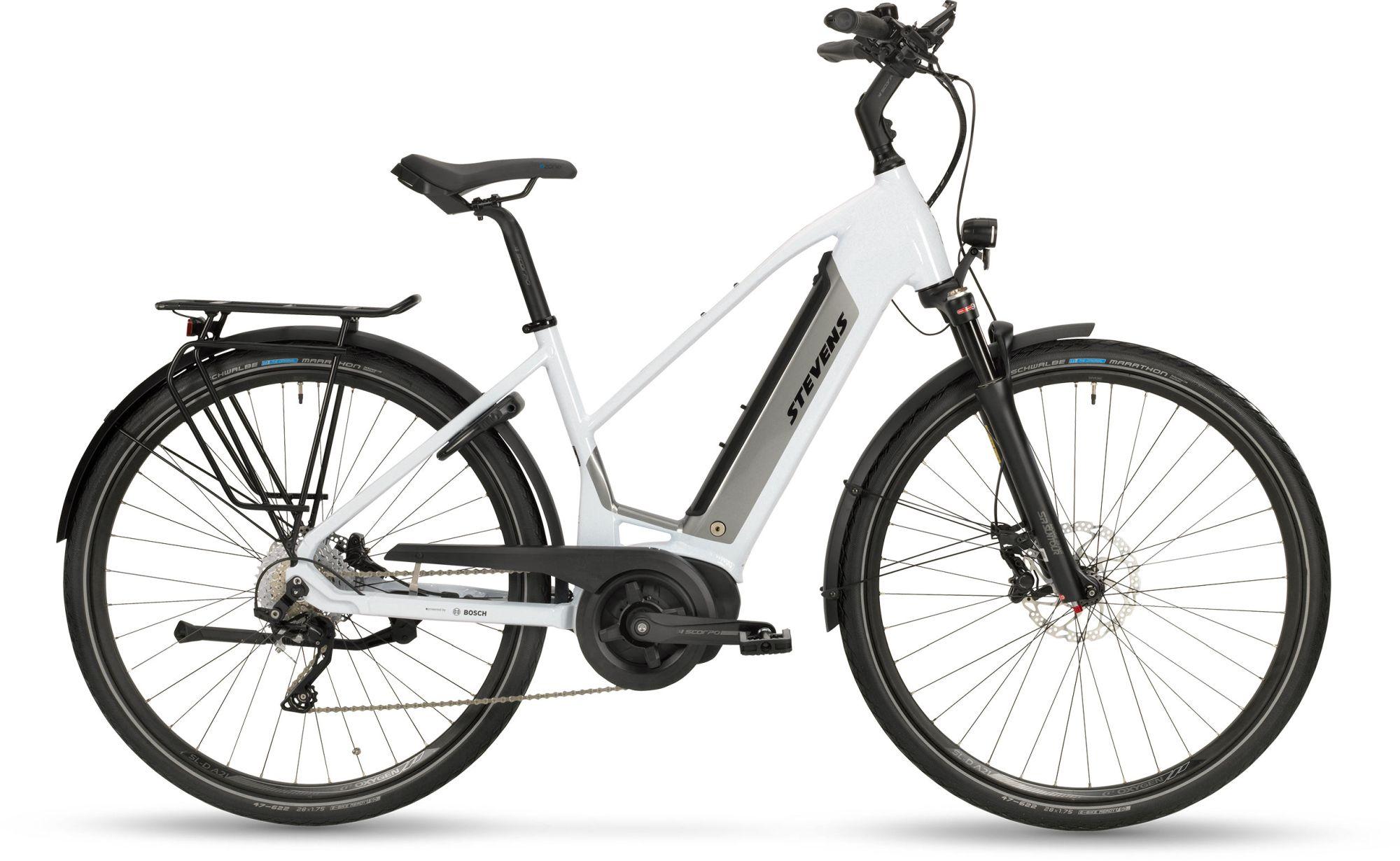 E-Bikes: STEVENS  E-TRITON PT5 Damenfahrrad Trapez Modell 2020 28 Zoll 54 cm