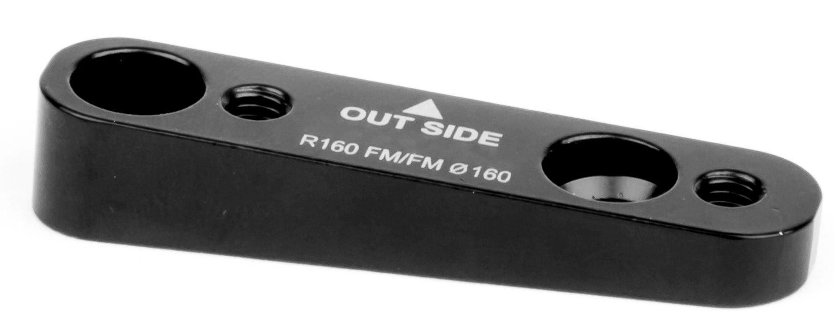 bremsen/Bremsen: Elvedes  Bremsscheibenadapter FM-FM 160mm rear