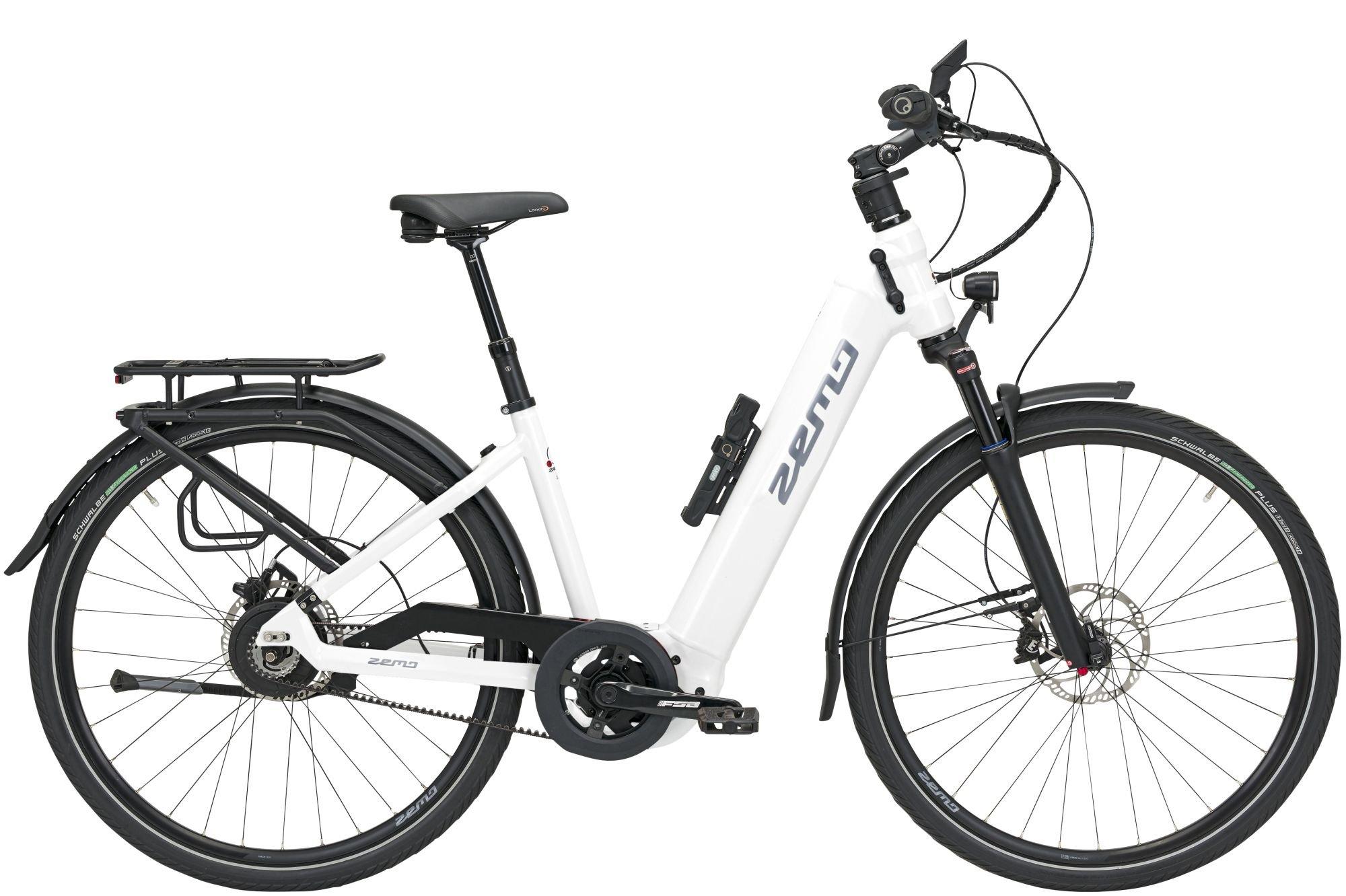 E-Bikes/Citybikes: ZEMO  ZE 10 F (625 Wh) stufenlose Nabenschaltung Damenfahrrad Wave Modell 2021 28 Zoll 43 cm