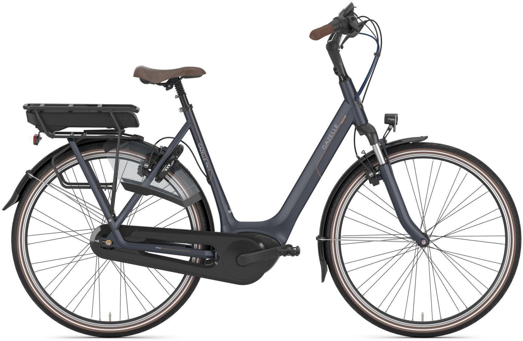 E-Bikes: Gazelle  ARROYO C7+ HMB (500 Wh) 7 Gang Nabenschaltung Damenfahrrad Tiefeinsteiger Modell 2021 28 Zoll 53 cm