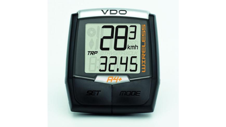 VDO A4+ Computer analoge Funkübertragung
