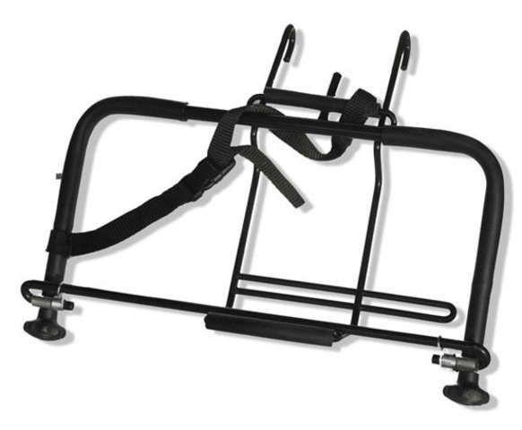 Fahrradteile/Gepäckträger: Steco  Attache-Mee Kofferhalter