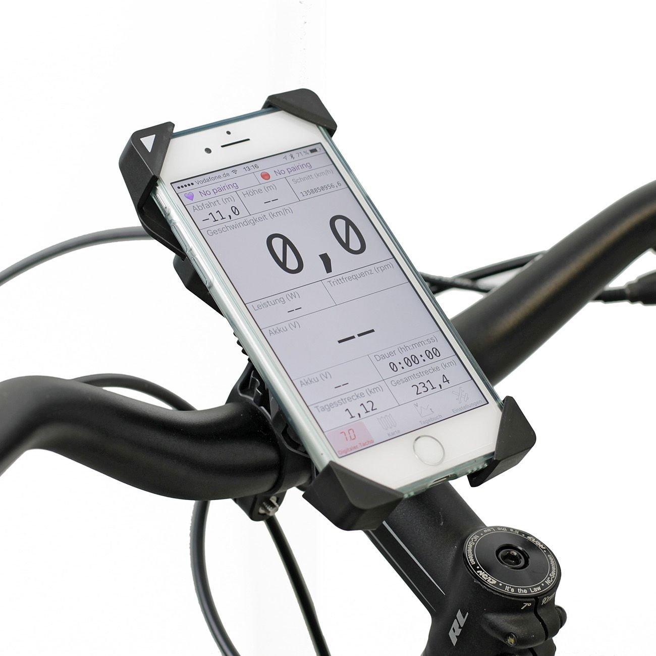 radios & handyzubehör/Lenker: NC-17  Smartphone Lenker-Universalhalter