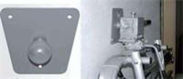transportzubehör: EAL  Wandhalter für AHK-Träger