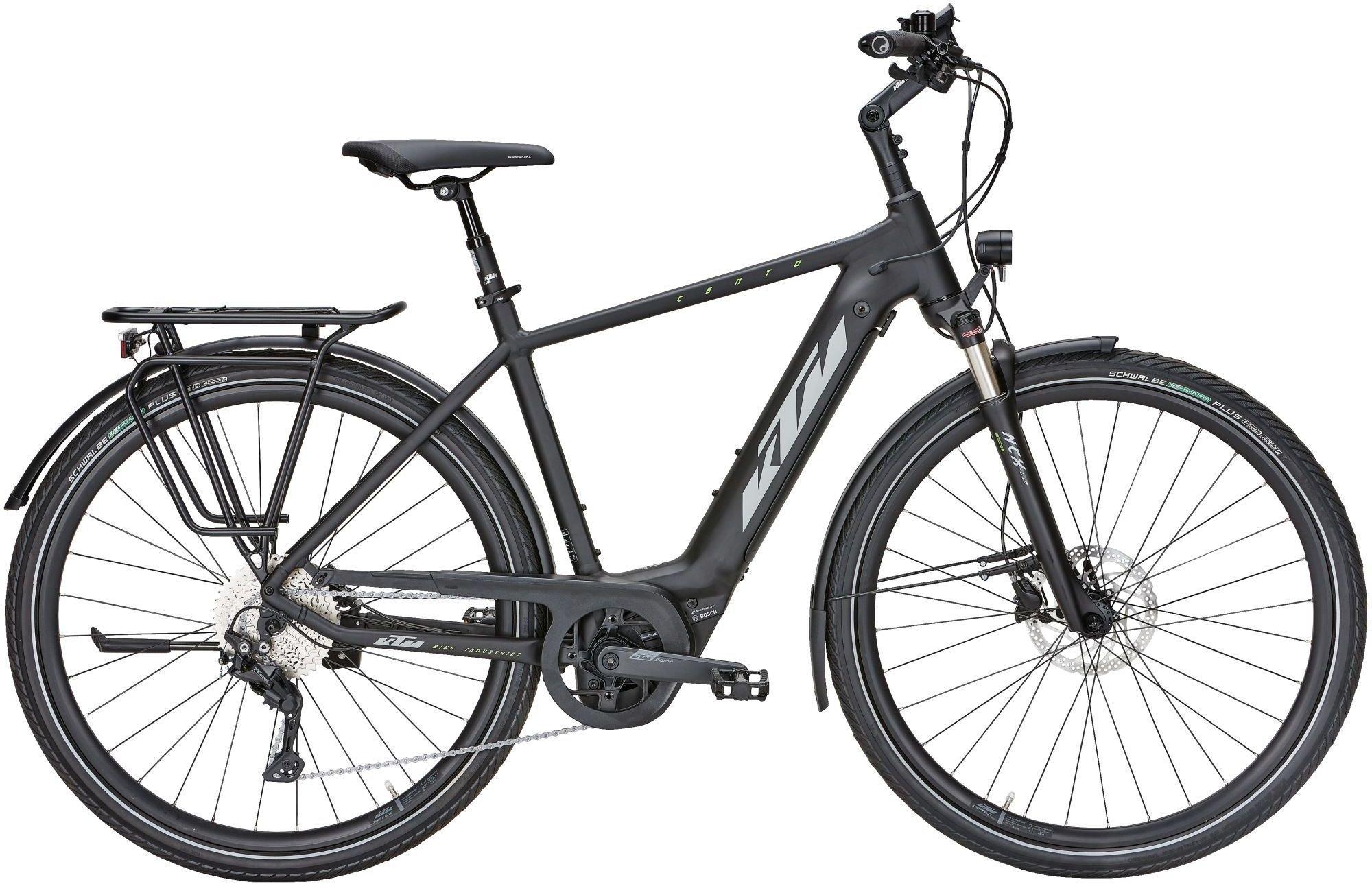 E-Bikes: KTM  CENTO 10 (500 Wh) 10 Gang Kettenschaltung Herrenfahrrad Diamant Modell 2021 29 Zoll 51 cm