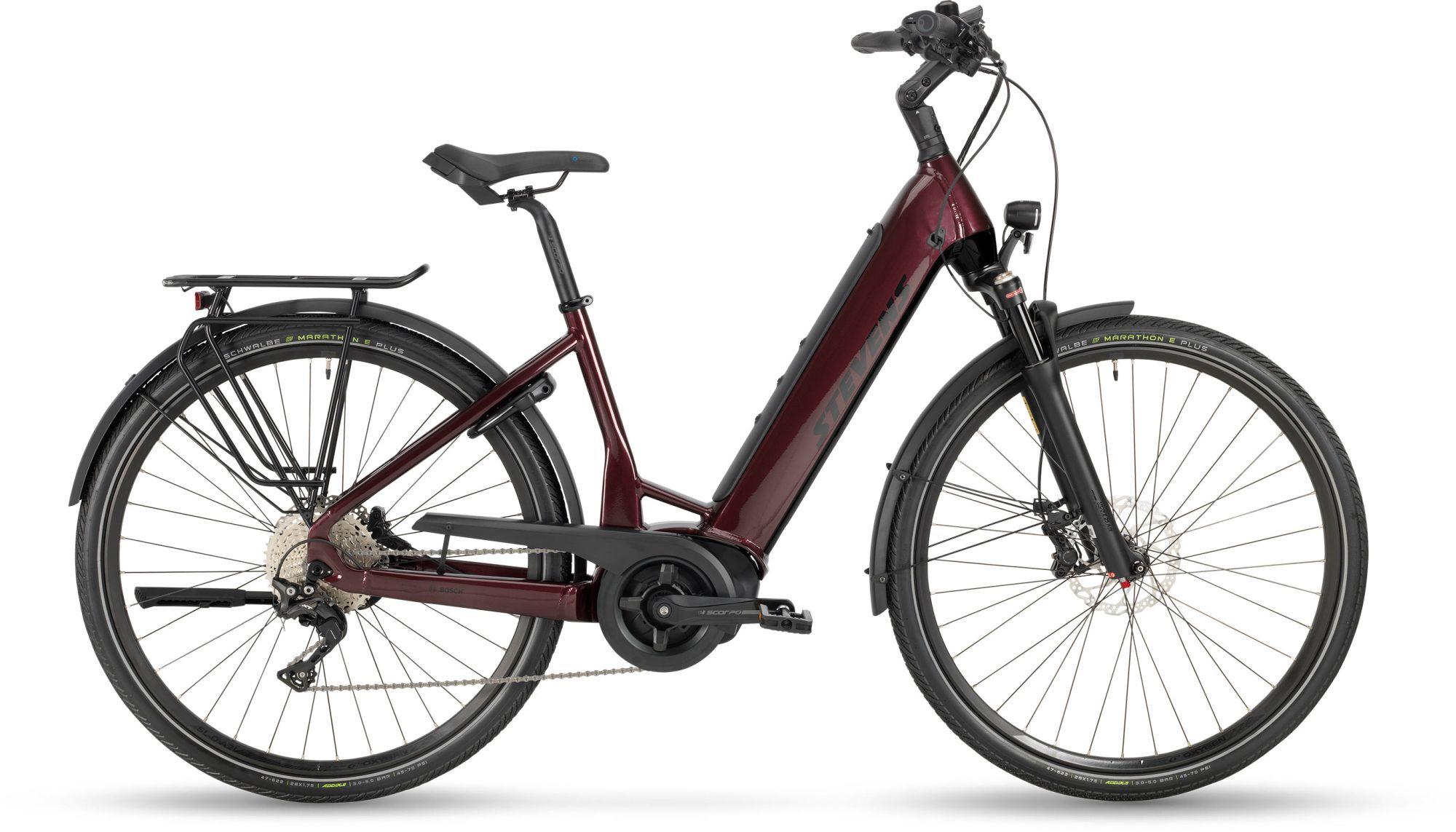 E-Bikes: STEVENS  E-Triton PT6 11 Gang Kettenschaltung Damenfahrrad Wave Modell 2021 28 Zoll 52 cm