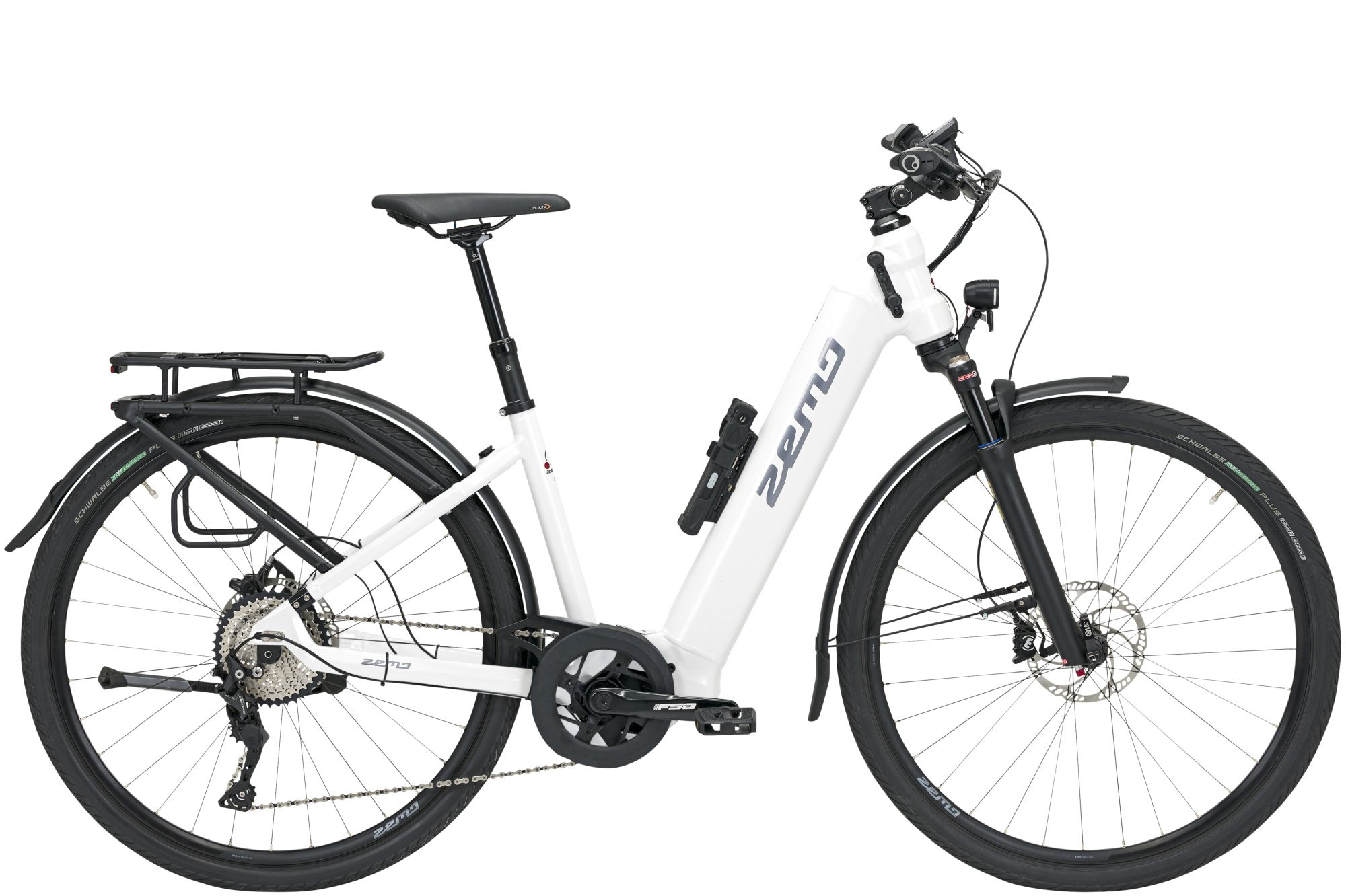 E-Bikes: ZEMO  ZE 10 (625 Wh) 10 Gang Kettenschaltung Damenfahrrad Wave Modell 2021 28 Zoll 53 cm