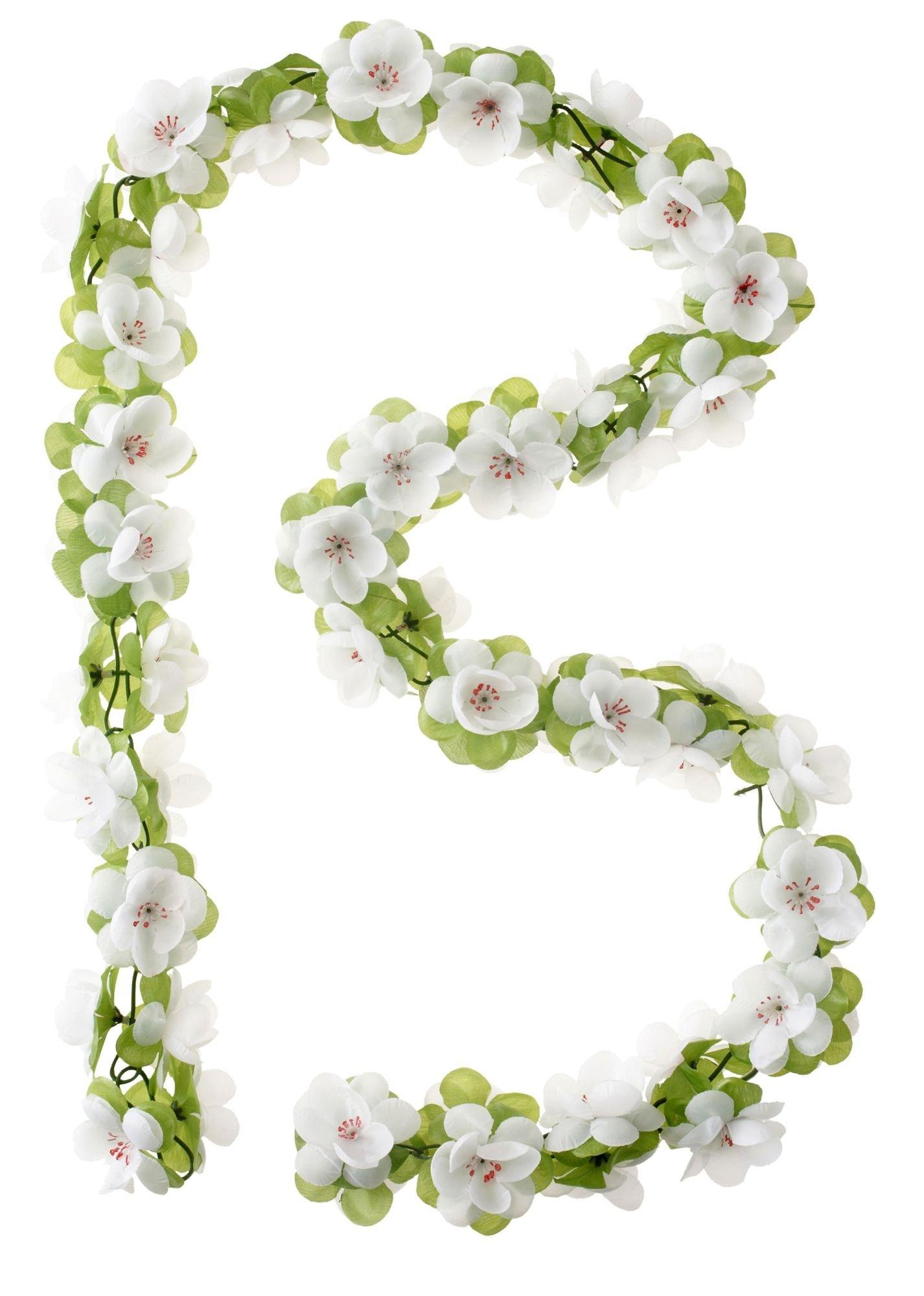 zubehör taschen/Koffer & Körbe: Basil  Blumengirlande 130 cm