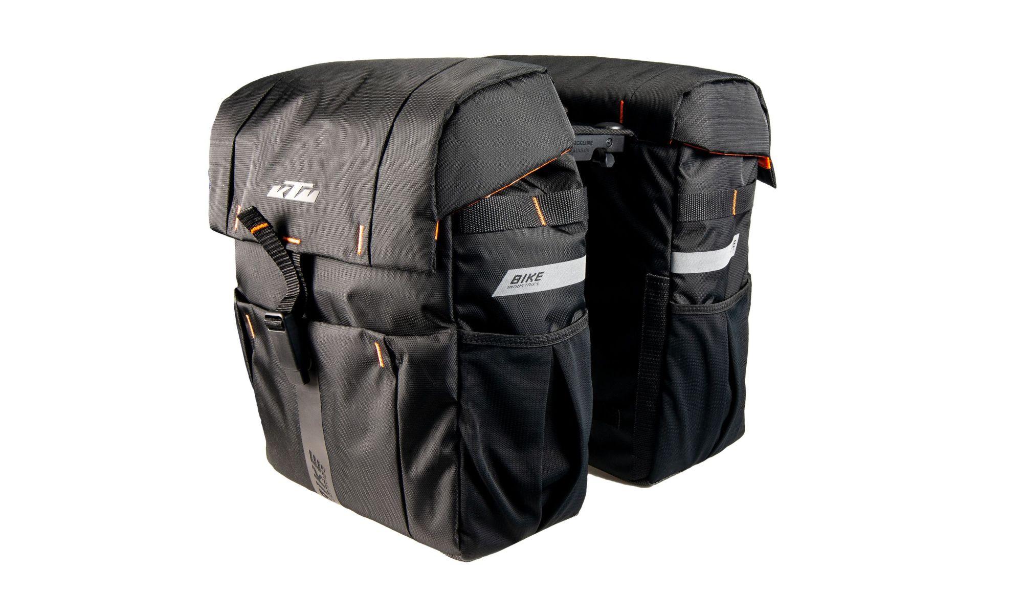 KTM Fahrradtasche Sport Carrier Bag double snap