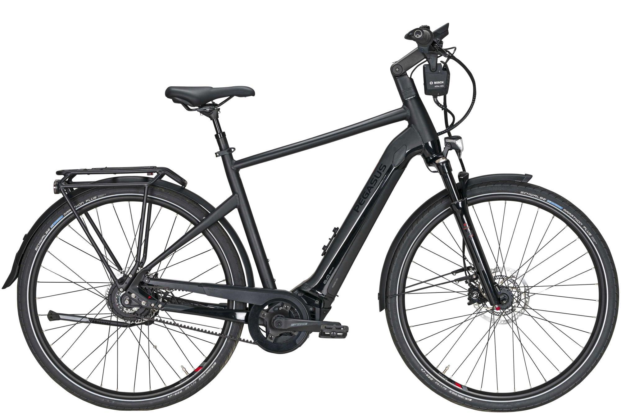 E-Bikes/Citybikes: Diamant  Premio Evo NV Lite Belt ABS (400 Wh) stufenlose Nabenschaltung Herrenfahrrad Diamant Modell 2021 28 Zoll 45 cm blac