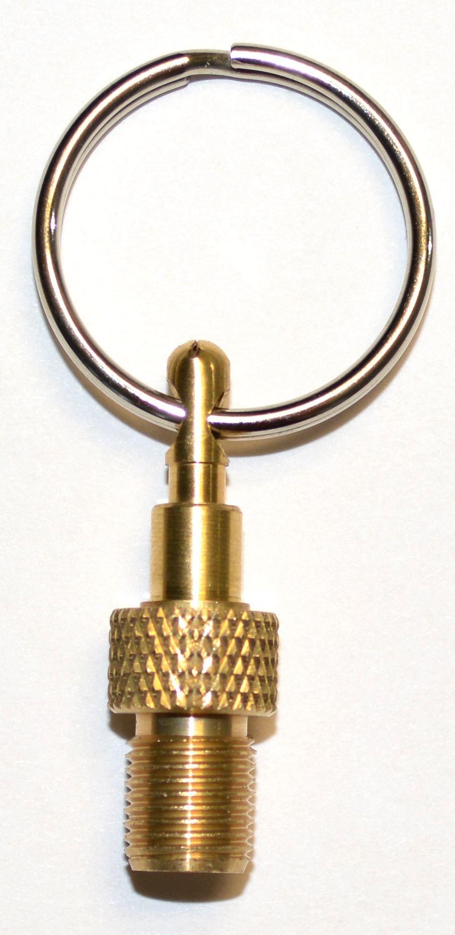 zubehör/Bereifung: Alligator  Schraubnippel am Schlüsselring
