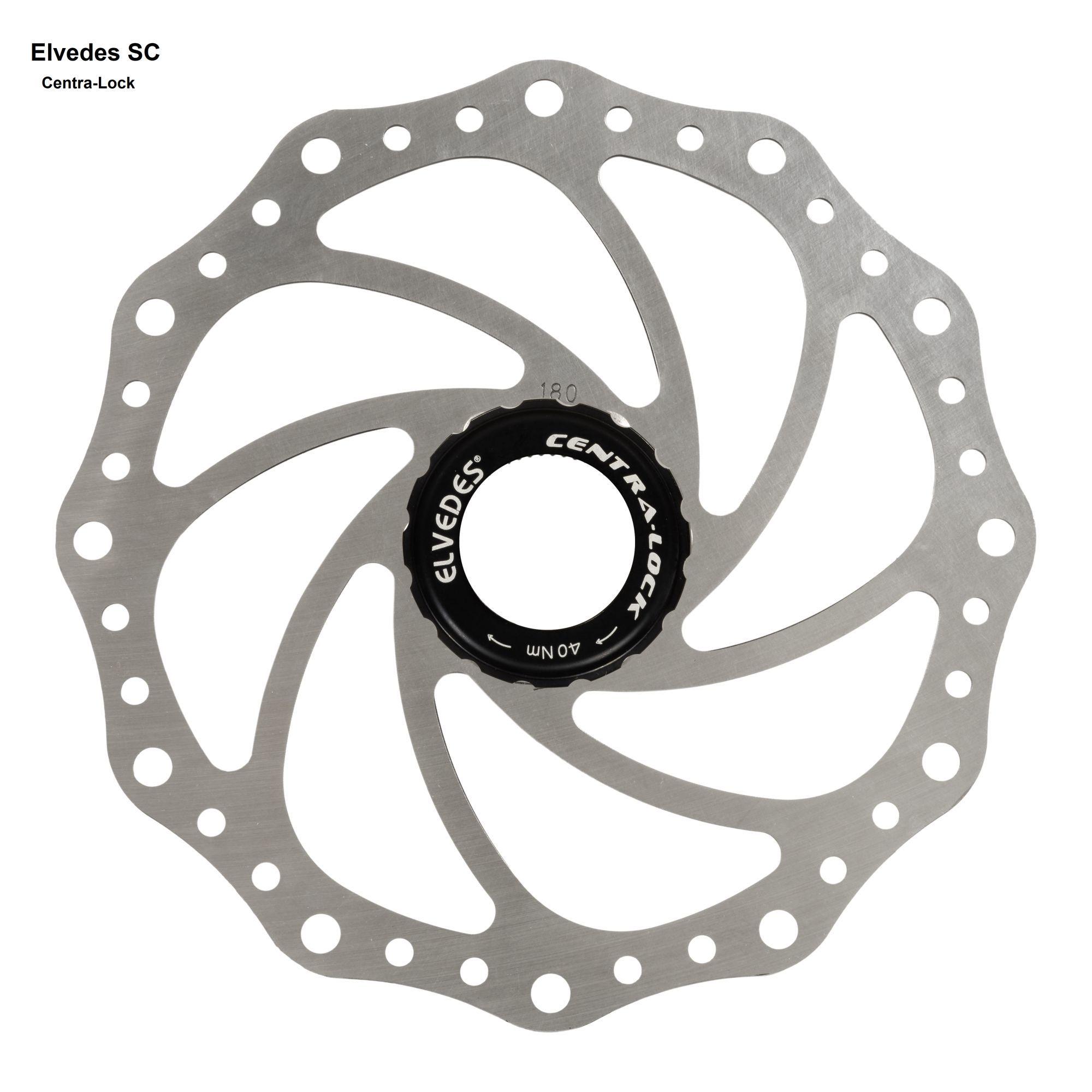 scheibenbremsen/Bremsen: Elvedes  Bremsscheibe SC14 140mm Centra-L