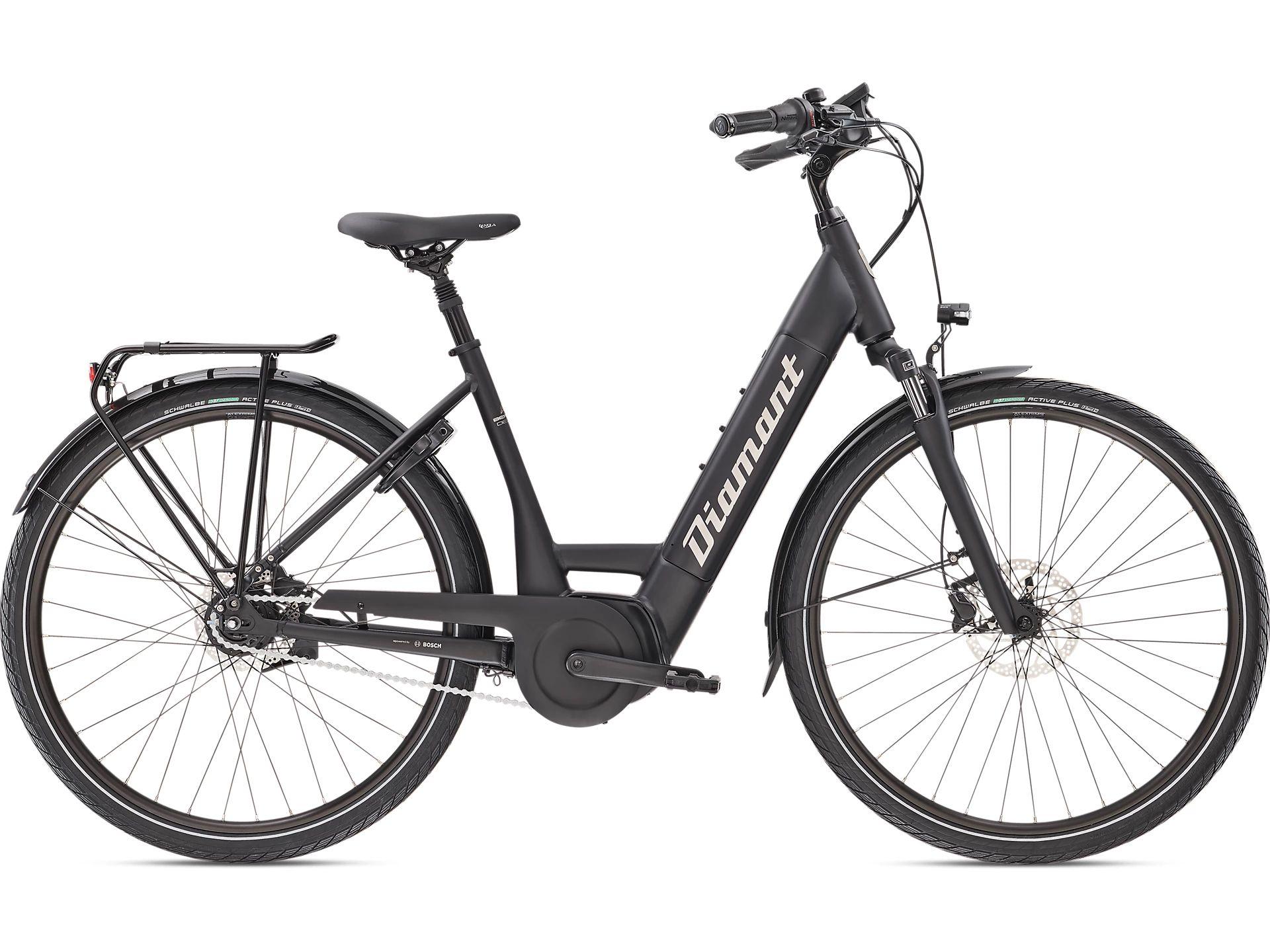 E-Bikes/Citybikes: Diamant  Beryll Deluxe+ RT TIE 8 Gang Nabenschaltung Damenfahrrad Wave Modell 2021 28 Zoll 55 cm Tief