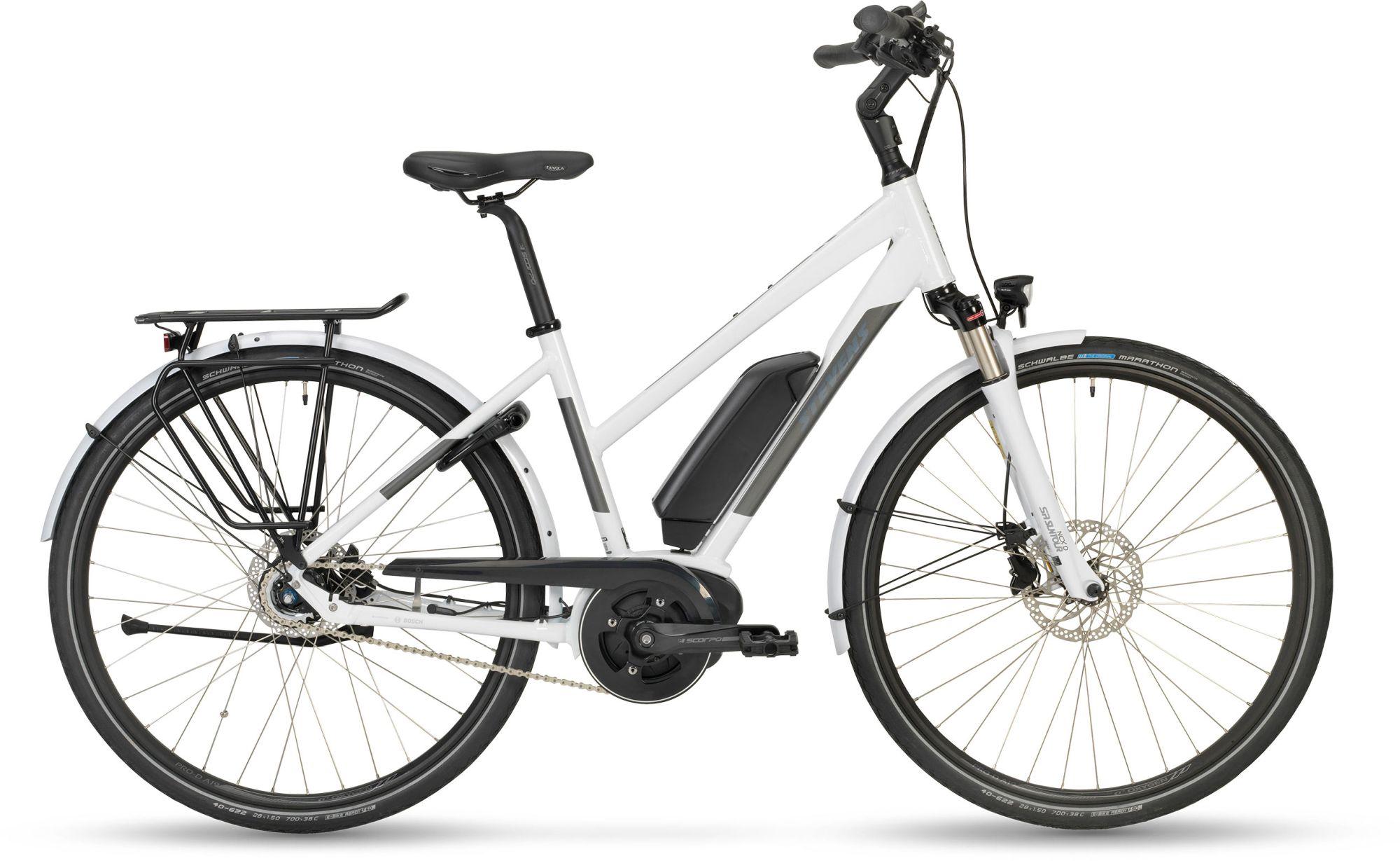 E-Bikes/Citybikes: STEVENS  E-Courier Lady Damenfahrrad Trapez Modell 2019 28 Zoll 54 cm