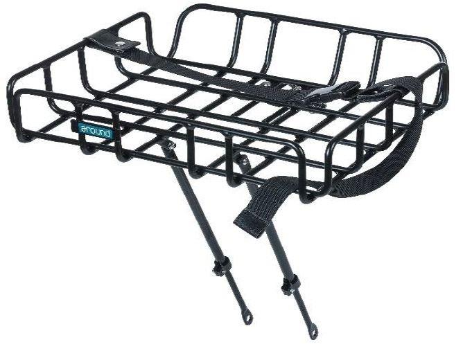 Fahrradteile/Gepäckträger: Around  Front Carrier Vorderrad-Gepäckträger Größe L L