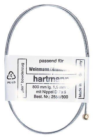 bremszug & hüllen/Bremsen: Hartmann  Bremsinnenzug 800mm