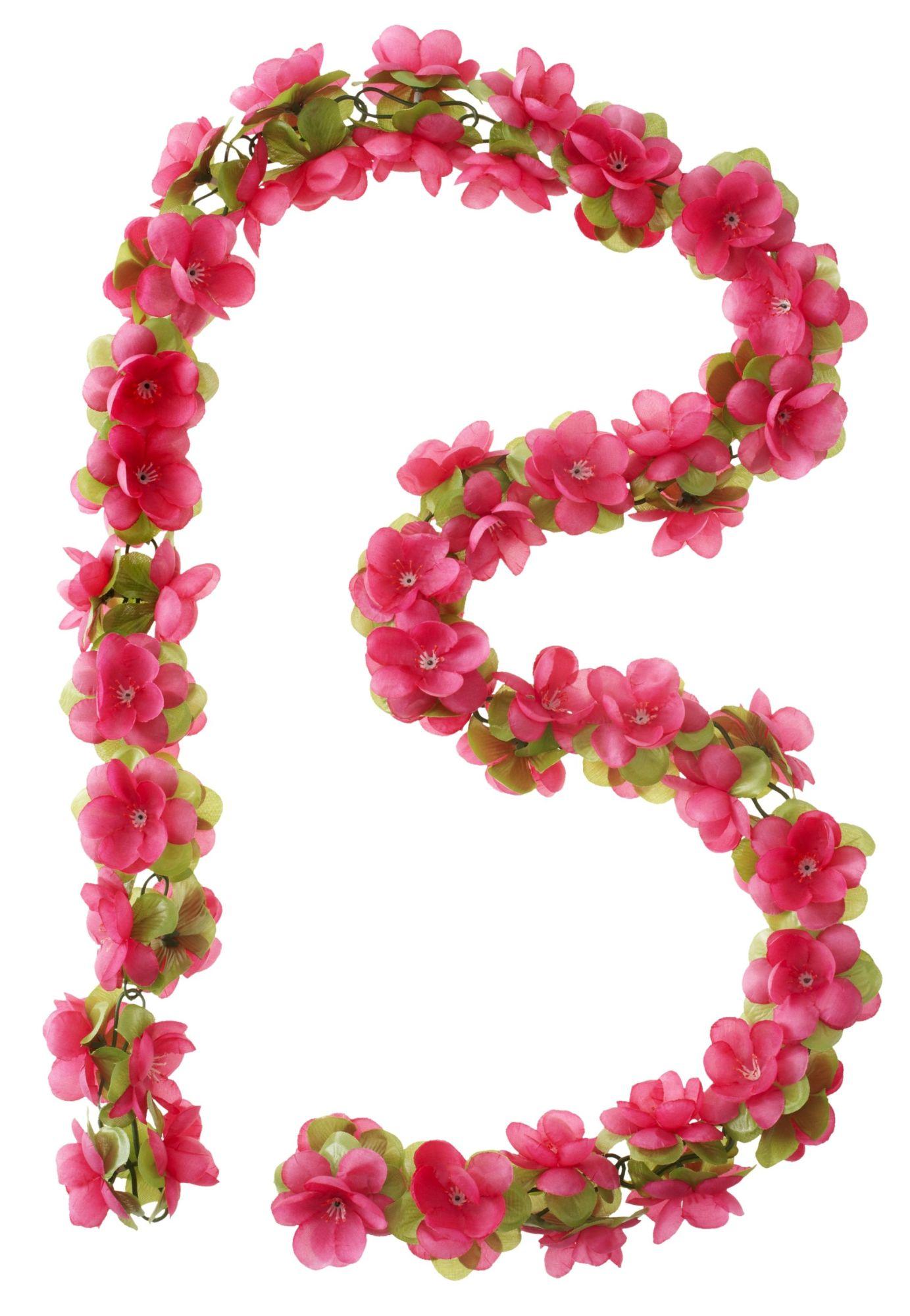 zubehör taschen/Koffer & Körbe: Basil  Blumengirlande 130cm