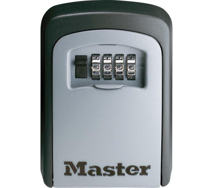 schlosszubehör/Schlösser: Master Lock  Safe-Schloss Select Access 54015403 (118 mm83mm34mm) 118 mm x 83 mm x 34 mm Grau
