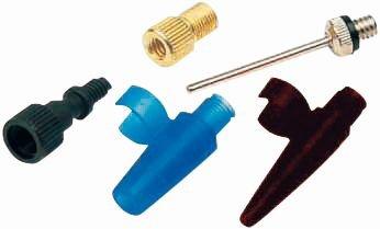 pumpenzubehör/Pumpen: Zefal  Adapter Inflator Kit AIR SET