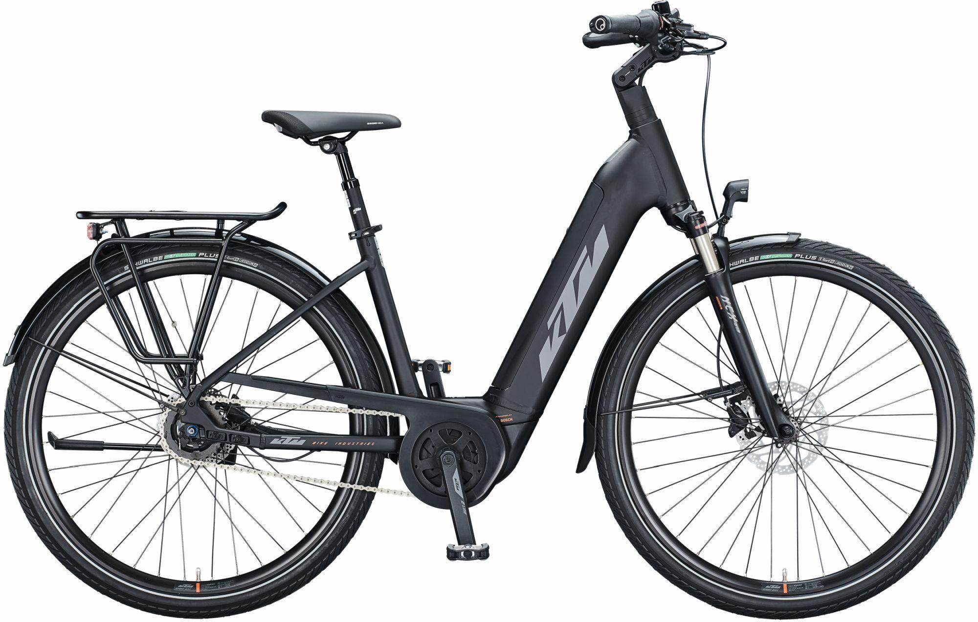 E-Bikes/Citybikes: KTM  MACINA CITY A510 (500 Wh) 5 Gang Nabenschaltung Damenfahrrad Wave Modell 2021 28 Zoll 56 cm