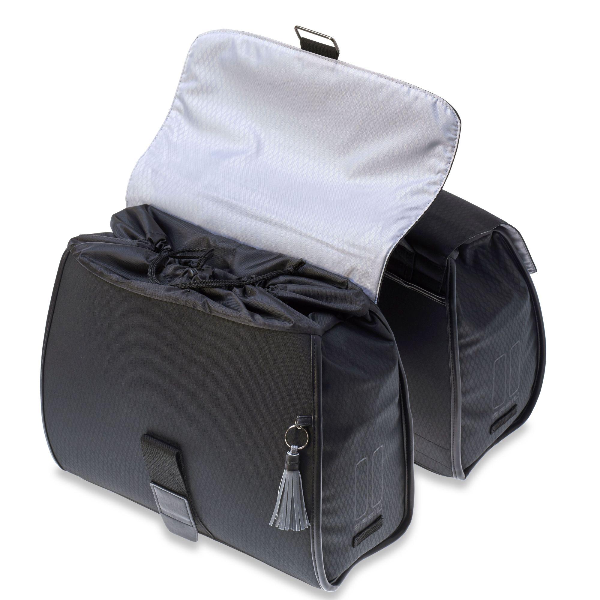 Basil Noir Business Bag Gepäckträgertasche, schwarz