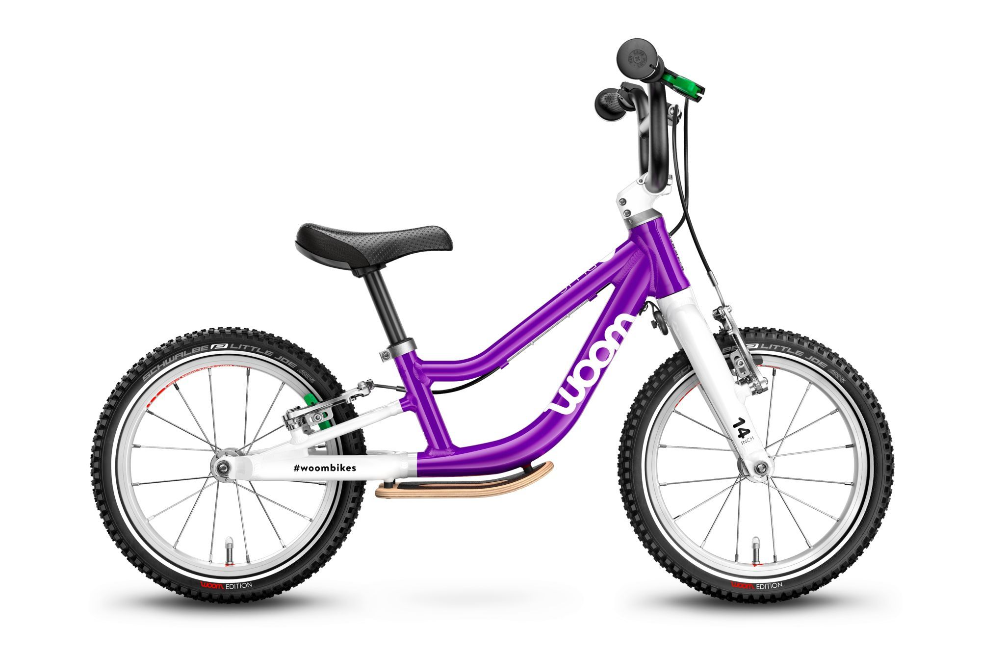 kinderfahrzeuge & laufräder: Diamant Woom 1 PLUS 1 Gang Kinderlaufrad Diamant Modell 2021 14 Zoll