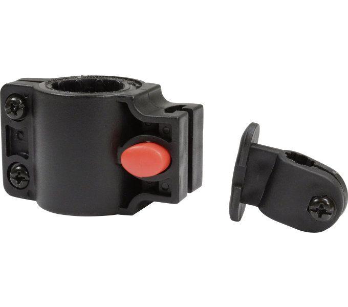schlosszubehör/Schlösser: Master Lock  Universalhalter für Kabelschlösser 6-10 mm Schwarz
