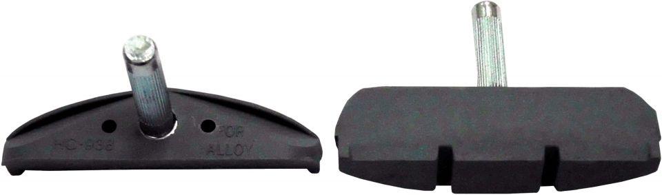 felgenbremsbeläge/Bremsen: Comus  C-Typ 60mm Gewindelos Bremsschuh