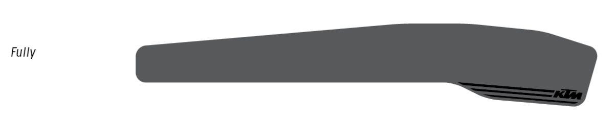 KTM Kettenstrebenschutz Silikon Fully