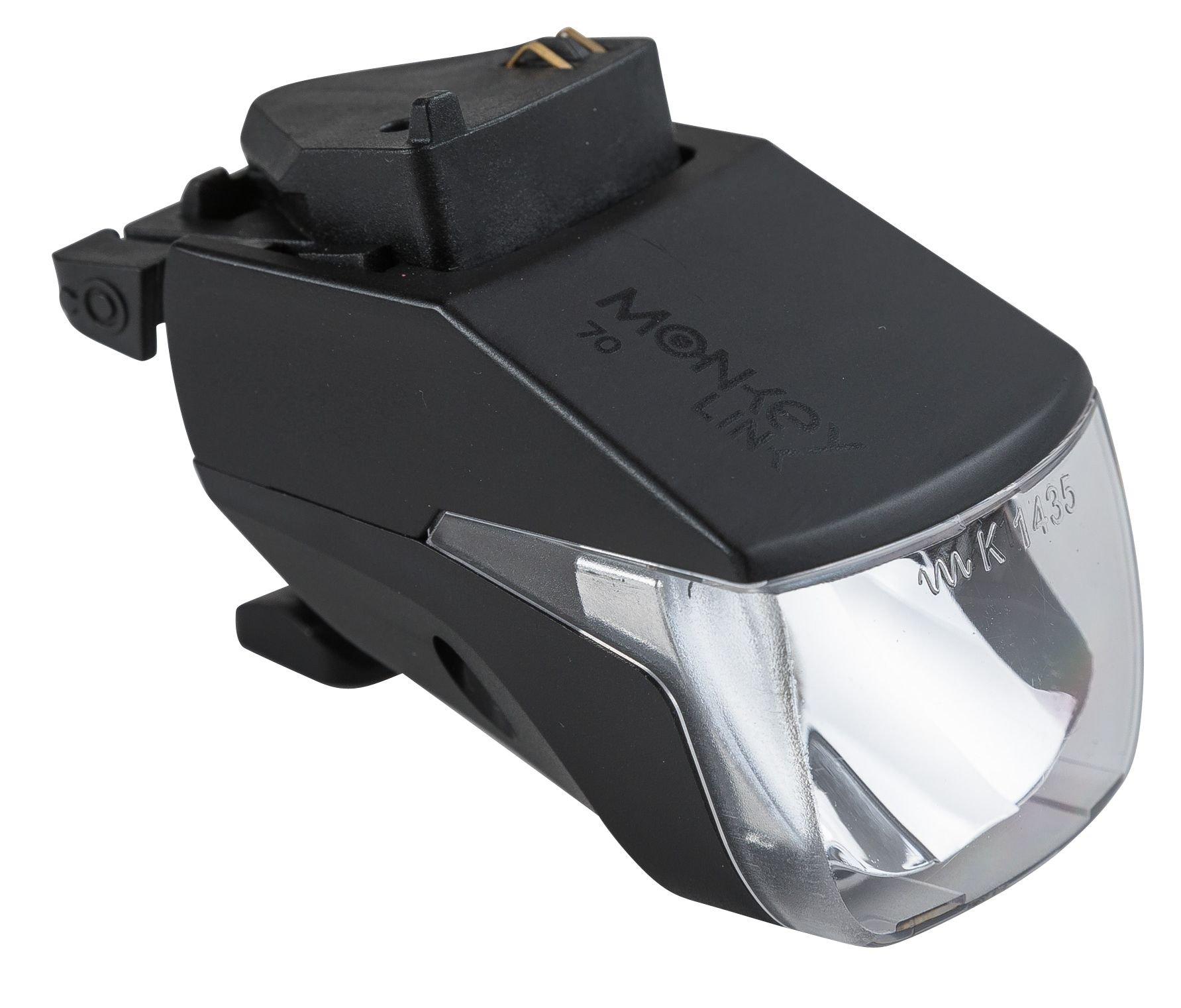 E-Bikes/Beleuchtung: MonkeyLink  E-Bike Scheinwerfer MonkeyLight 100 Lux Connect (Stromzufuhr über E-Bike Akku)