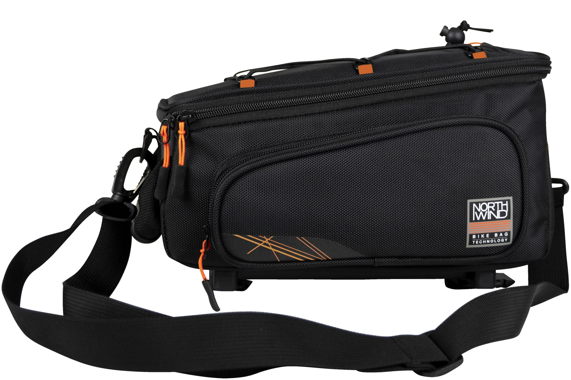 Fahrradteile/Koffer & Körbe: Northwind  Gepäckträgertasche Smartbag Classic i-Rack II ()