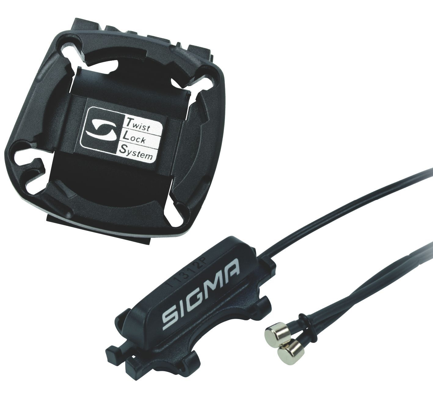 zubehör computer & pulsuhren: Sigma  00428 Universalhalter inkl. Kabel