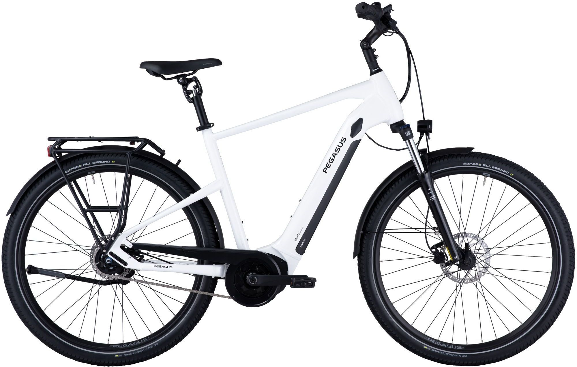 E-Bikes/Citybikes: Diamant  Savino EVO 5R Performance (500 Wh) 5 Gang Nabenschaltung Herrenfahrrad Diamant Modell 2021 28 Zoll 40 cm light grey