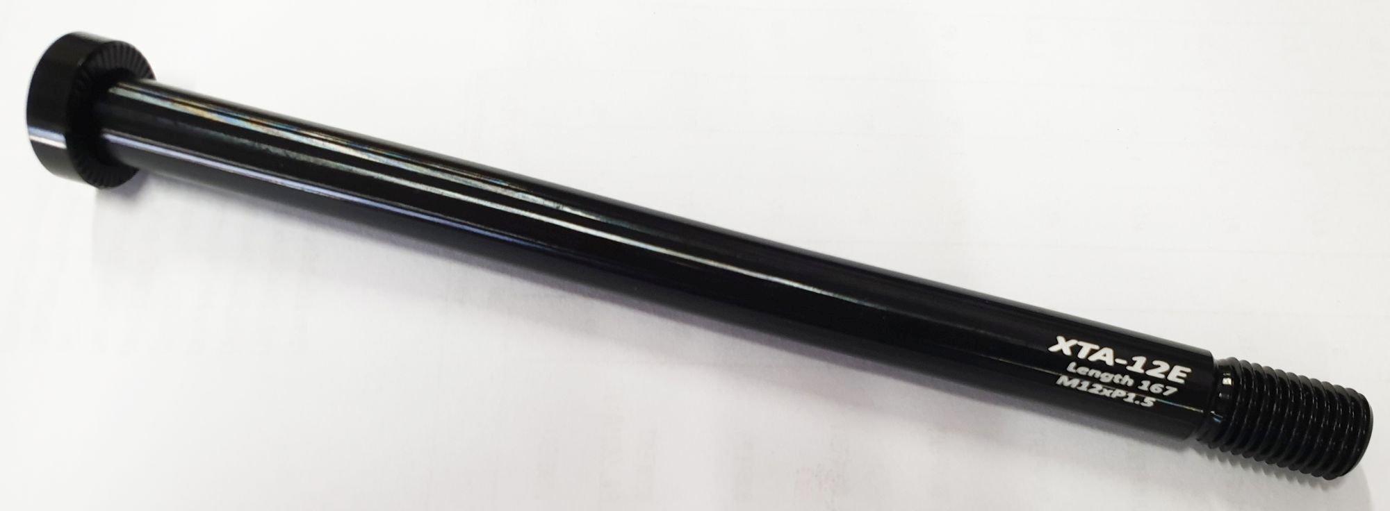 naben: Formula Steckachse 166mm HR chrom