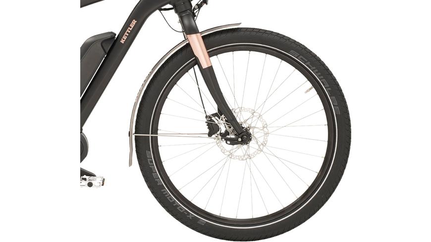 Kettler Alu Rad Boston E Beltdrive (500 Wh), Herrenfahrrad, Diamant, Modell 2018, 28 Zoll