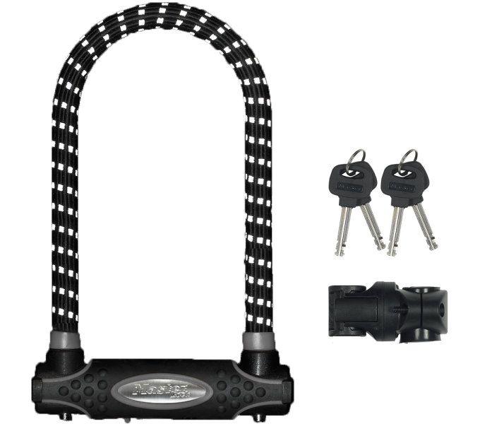 bügelschlösser/Schlösser: Master Lock  Bügelschloss 8195 (swr) 13 mm x 210 mm x 110 mm SchwarzReflex