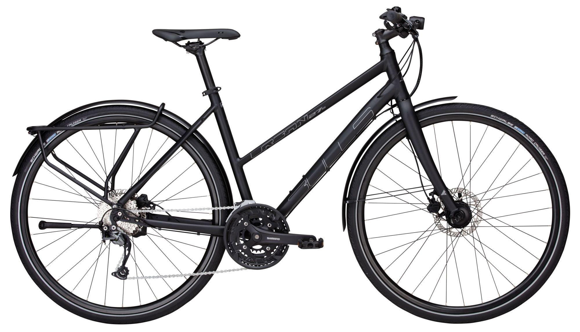 urban bikes/Urban bikes: Bulls  Urban 27S 27 Gang Kettenschaltung Damenfahrrad Trapez Modell 2017 28 Zoll 54 cm