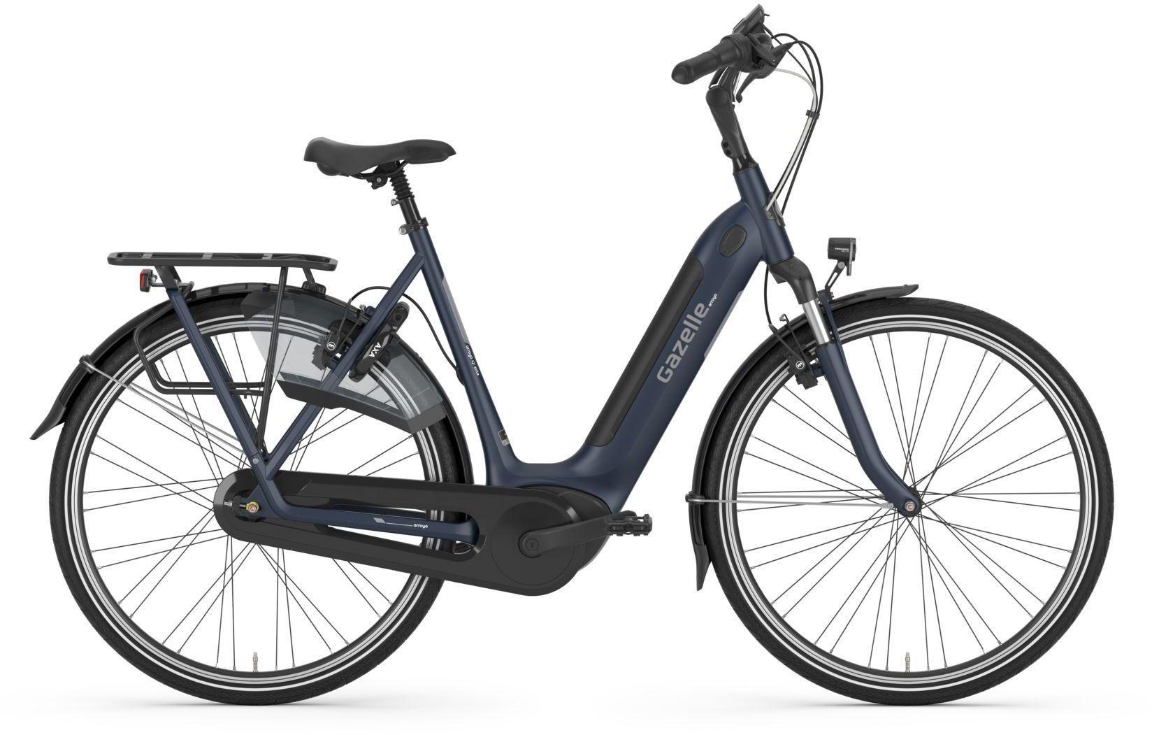 E-Bikes: Gazelle  ARROYO C7+ HMB ELITE (500 Wh) 7 Gang Nabenschaltung Damenfahrrad Tiefeinsteiger Modell 2021 28 Zoll 61 cm