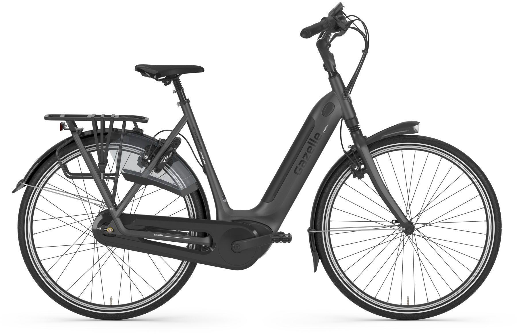 E-Bikes: Gazelle  GRENOBLE C380 HMB (500 Wh) Nabenschaltung Damenfahrrad Tiefeinsteiger Modell 2021 28 Zoll 61 cm