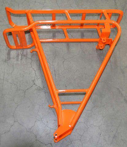 orange glänzend