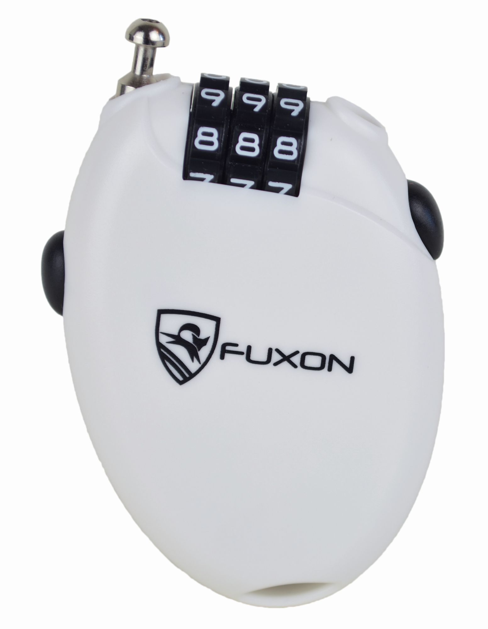 Fuxon Kabelschloss Mini Lock (weiß)