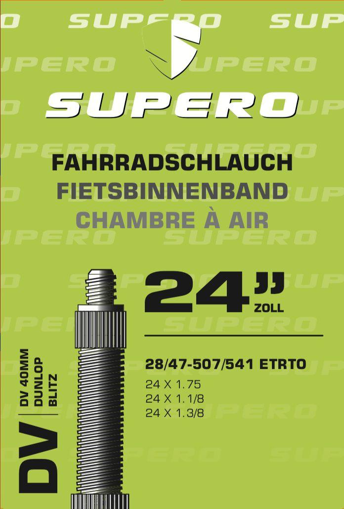 schläuche/Bereifung: Supero  Fahrradschlauch 24