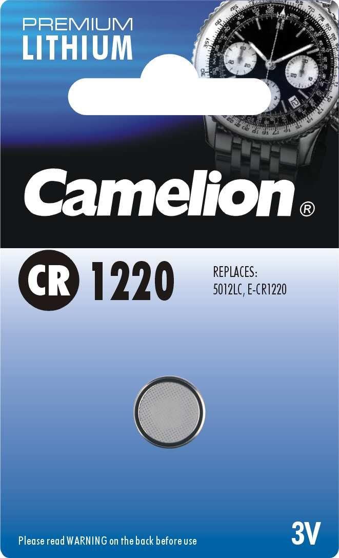 zubehör computer & pulsuhren: Camelion  Knopfzelle CR 1220 1Stück