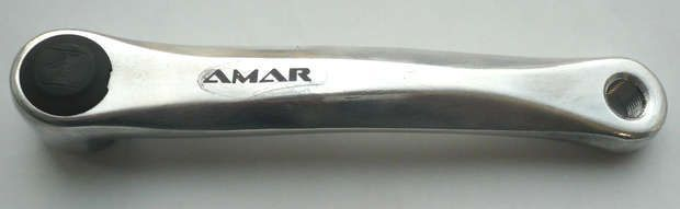 kettengarnitur (kettengarnitur): Amar  linke Kurbel 170 mm