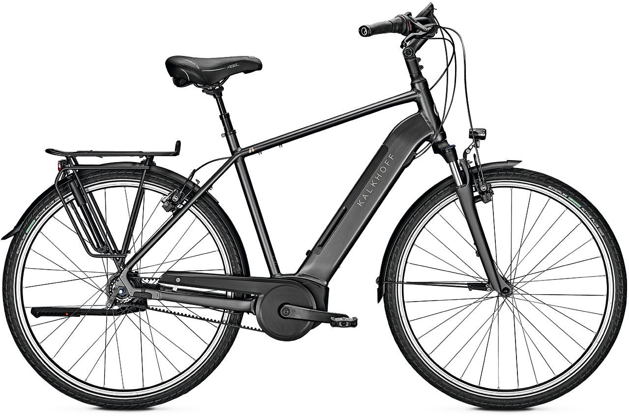 E-Bikes/Citybikes: Kalkhoff  AGATTU 4.B EXCITE FL (500 Wh) 8 Gang Herrenfahrrad Diamant Modell 2020 28 Zoll 60 cm